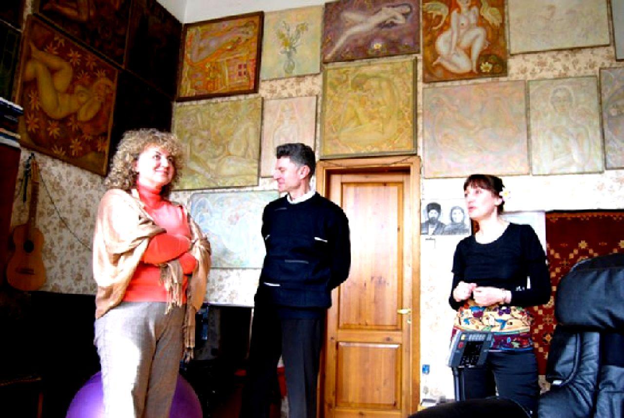 Квартира-музей Льва Овчининкова и его основательница и хранительница музейных ценностей Зоя Овчинникова2