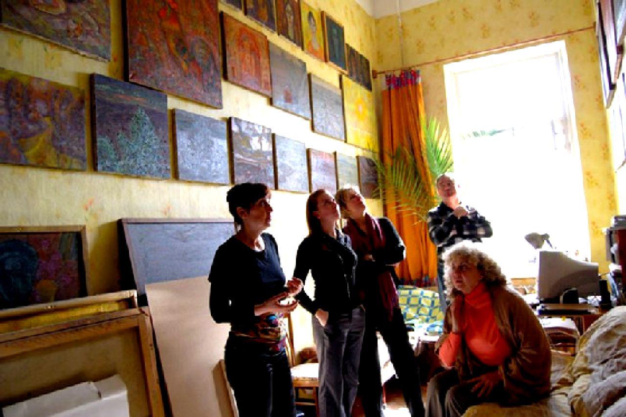 Квартира-музей Льва Овчининкова и его основательница и хранительница музейных ценностей Зоя Овчинникова6
