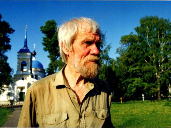 Лев Овчинников в Городце. Горьковская область. 1998 г. Фото А. Горячева